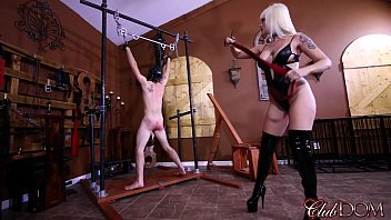 Virginia bdsm clubs - Clubdom mistress breaks in her slaves asshole