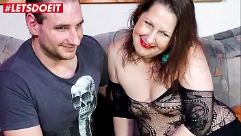 LETSDOEIT - Horny Chubby German Wife Takes On Her Lovers Cock