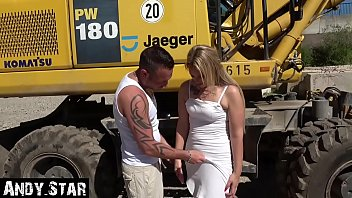 Construction Whore Creampie Pussy