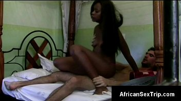 Hung white stuf pumps up African girls pussy ballsdeep doggystyle
