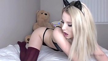 LENASPANKS | Horny Kitty Cam Girl, Anal, Buttplug Tail