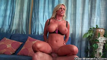 Image: Busty soccer milf Diamond Foxxx gets her pussy trashed