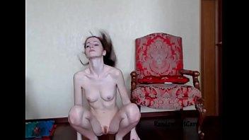 Sexy Fit Redhead Teases At RandomSlutCams.com