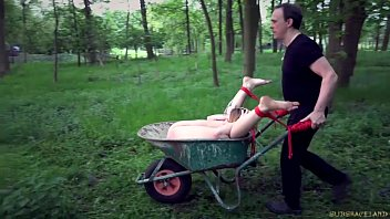 Young teen hogtied Disciplined teen slave tied and vibed is brutally fucked in bdsm