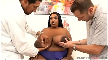 Busty Black BBW Dippd N Red Handles 2 Huge Cocks