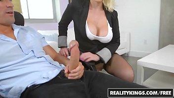 RealityKings - Big Tits Boss - Slide It In Sunny Thumb