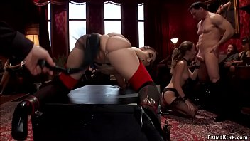 Slaves are tormented at brunch party
