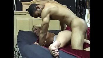 Nice big hard thick cock fills up the cunt of this cute white girl doggy style