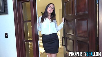 PropertySex - Horny real estate agent busted watching porn Thumb