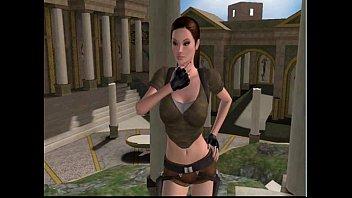 Lara Croft fucked by a demon at 3dSexVilla2