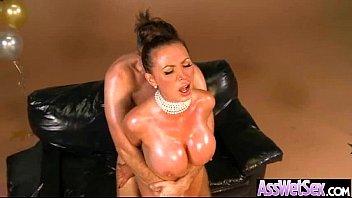 (nikki benz) Big Curvy Butt Girl Get Deep Hard Style Anal Sex mov-26