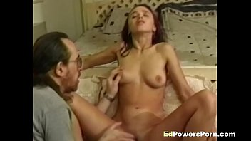 Bench power strip Babe gets asshole fucked