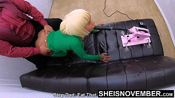 Bigbooty Step Daughter Tiny Pussy Destroyed In Slow Motion And Mouth Tortured By Aggressive Step Dad, Skinny Waist Thick Black Hugebooty Msnovember Fauxcest on Sheisnovember
