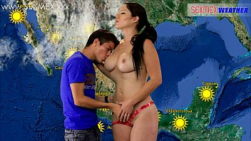 Naked mexicans Slut weather-girl gets fucked by tv assistant