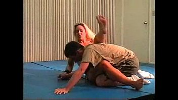 Flamingo Mixed Wrestling mw074 2 - Christine vs Brett Part 2 thumbnail