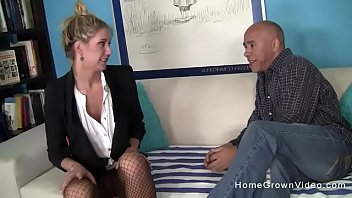 Tall blonde amateur will do anything for extra cash