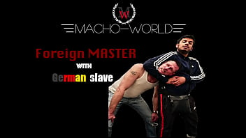 Master Khan with German slave