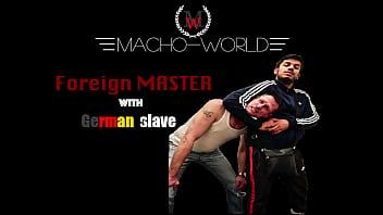 Master Khan with German slave