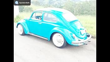 Nude beetle Fusca azul compilação muitooo gostosoooooooo