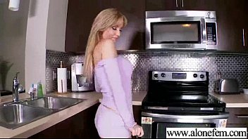 Sex Tape With (angela sommers) Cute Girl That Play With Sex Stuffs clip-11