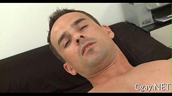 Obscene fellatio for lusty gay