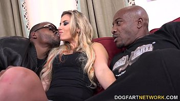 Alana Luv Get A Double Dose Of Black Cock Preview