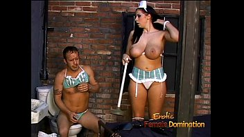 Ravishing Gianna makes a horny stallion eat her orgasmic pussy