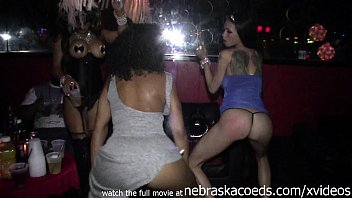 strippers getting naked in vip