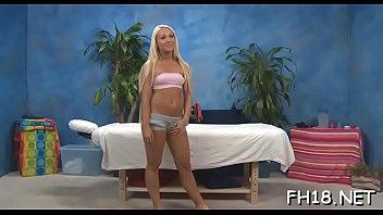 Sexy hot sweetheart fucks and sucks her massage therapist