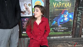 Hairy Pussy Found On Bus Stop Show To Dude In Van Really Horny Woman