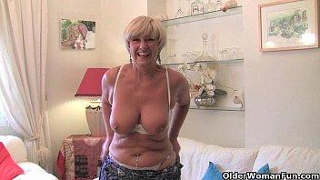 British mature women Best of british grannies part 4