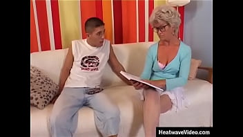 Just because she's old, that doesn't mean that this granny doesn't want to fuck!