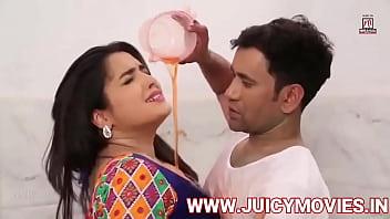 Bhojpuri Actress Amrapali Dubey Kissing Scene