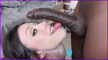 BANGBROS - Interracial Anal Sex With Petite Brunette Girl Jennifer White