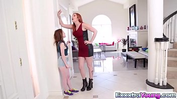 Tiny Alice gets a lesbian fuck with Lauren