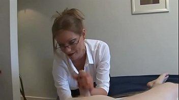 Videos tube awesome secretary handjobs min sec