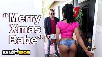 Black cunt 2003 - Bangbros - black pornstar kira noir takes anal from her boyfriend tyler nixon on christmas