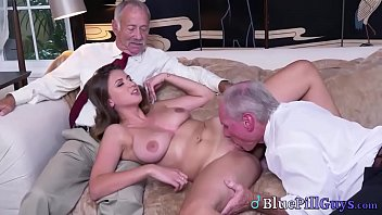 Horny Old Men Find Hot Teen Babe Online To Fuck