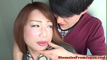 Cosplay ladyboy banged in her asshole