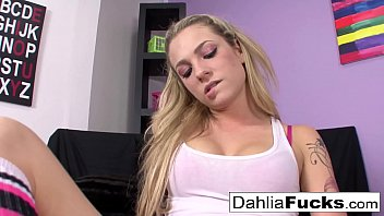 Hot bedroom fun With Dahlia Sky