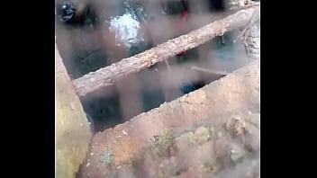 Young girl taking bath hidden cam video
