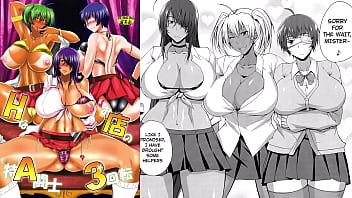 Anime breast porn Mydoujinshop - sexy ninja girls strip to their nude bodies and fuck hentai comic