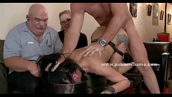 Beautifull hot and sexy slave disgraced