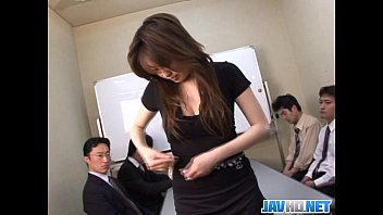Office Chick In Stocking Finger Bang PornHD
