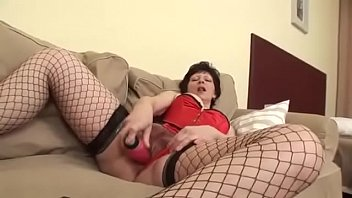 Granny Puts On Her Sexiest Lingerie