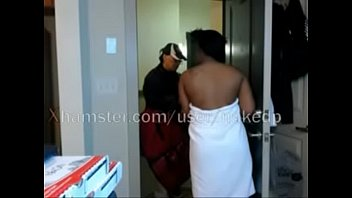 Real guys naked Watch my sister towel fall for delivery guy