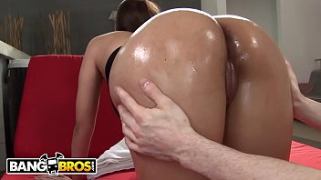 BANGBROS - Sofia Nix Gets Her Fat Latin Ass Pussy Fucked By Brick Danger