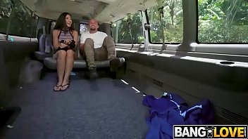 Angelica Cruz In Getting Her Pussy Stretched on The Bus