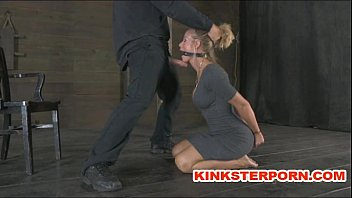 Paid to be caned porn - Slaves are in a pervert submission - bond, cane and cook sucking