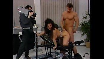 Fitness freak Tiziana Redford aka Gina Colany train at gym